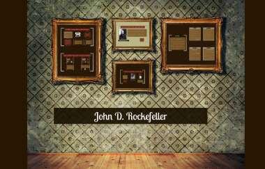 John D Rockefeller By Karolinka Leziak