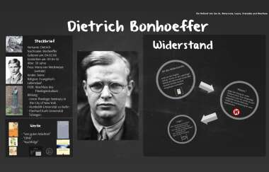Dietrich Bonhoeffer Leben Und Werk