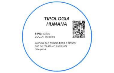 Tipologia Humana By Yessica Valeria Osorio Henao