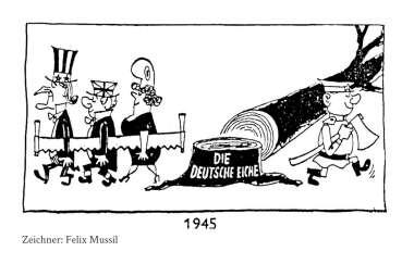 Besatzungszonen karikatur PPT
