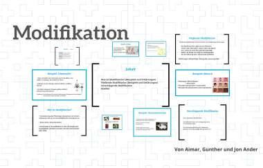 Modifikation Vs Mutation Theoretisches Material 0