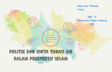 Politik Dan Cinta Tanah Air Dalam Perspektif Islam Pptx Politik Dan Cinta Tanah Air Dalam Perspektif Islam Chevin Yenda 190213513614 Ilham Course Hero