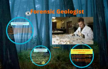 Forensic Geologist By Erika Clark