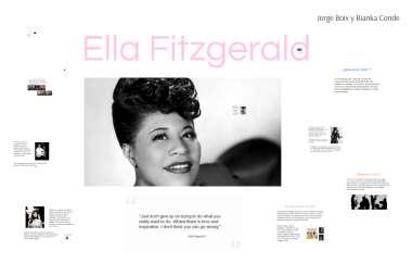 Ella Fitzgerald By Bianka Conde