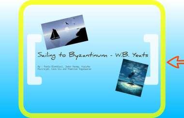 Sailing To Byzantium By Thamilan Yogeswaran Paraphrase