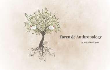 Forensic Anthropology By Abigail Rodriguez