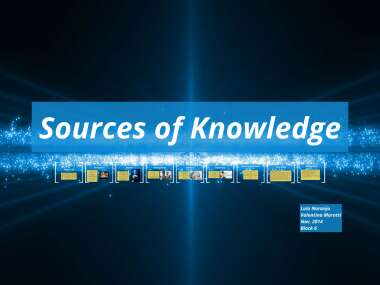 Sources of Knowledge by Lula Naranjo