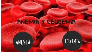 anemia y leucemia
