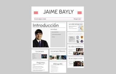 Jaime Bayly By Morgan Usen Jaime bayly entrevista al presentador humberto rodríguez el gato mas información sobre bayly en la no se lo digas a nadie: prezi