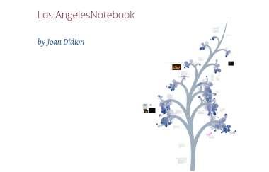 Los Angeles Notebook By Sanela Kalakovic