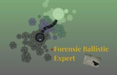 Forensic Ballistic Expert By Andrea Varnado