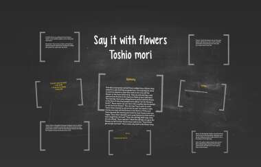 Say It With Flowers By Torin Casale